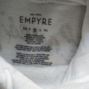 Zumiez Tops - Cropped Zumiez Empyre Hoodie